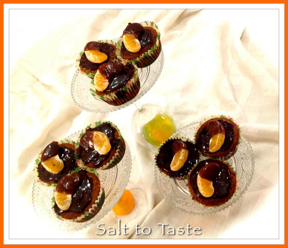 Wholewheat orange muffins
