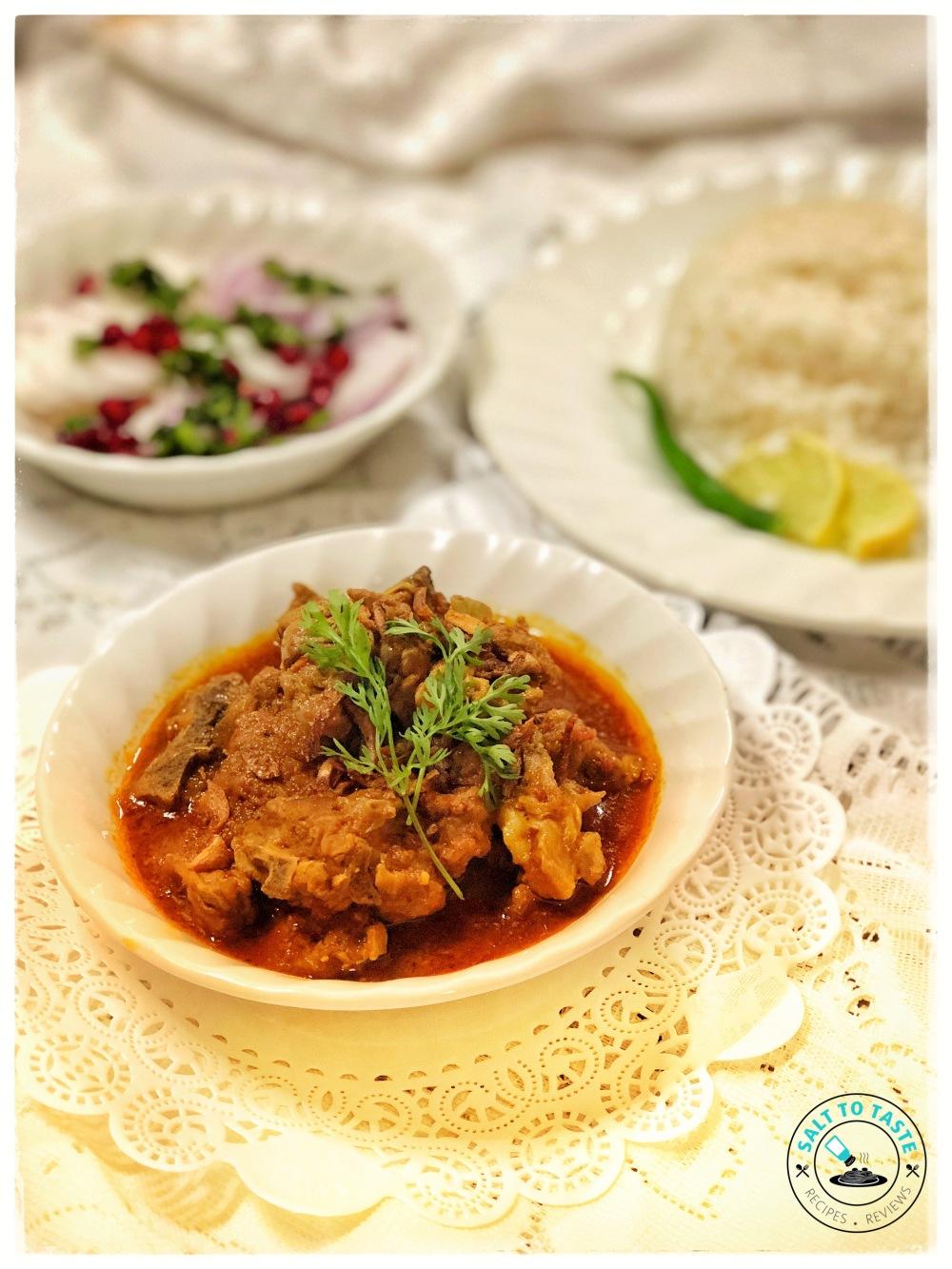 Nepali Mutton Curry