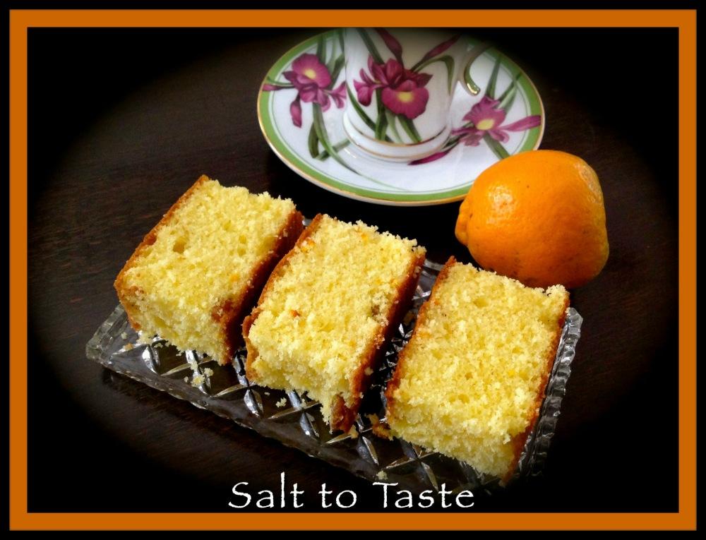 Orange Cake 2 Feb 2015